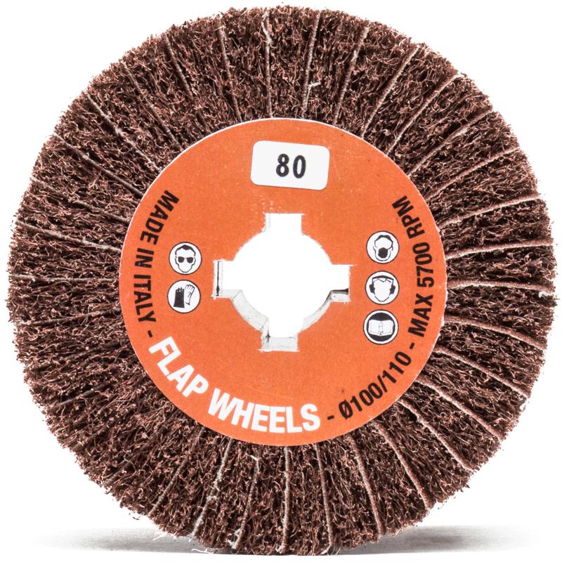 interleaved sander wheel athena abrasives